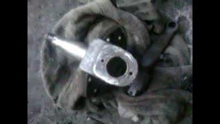 Замена шкворня ГАЗ 3307 чясть1