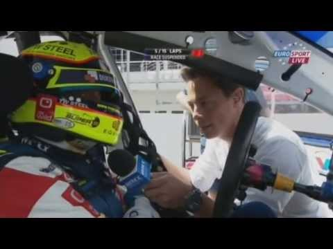 "2013 FIA WTCC - Moscow -  Tom Coronel ""We Don't Need Luck"" Interview"