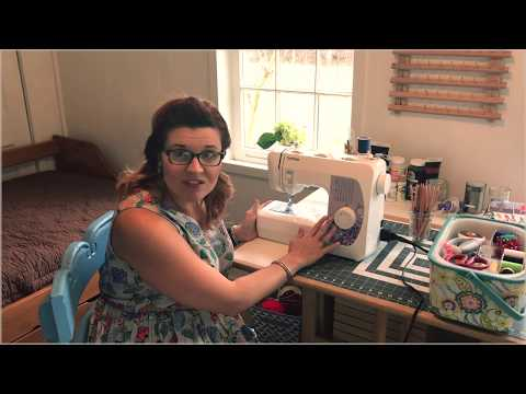 Brother LX2763 Sewing Machine Tutorial & Review