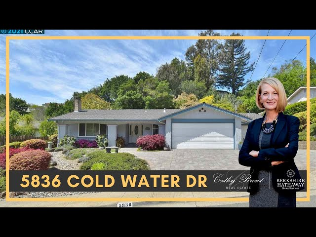 5836 Cold Water Drive, Castro Valley, CA 94552  | Cathy Brent Real Estate