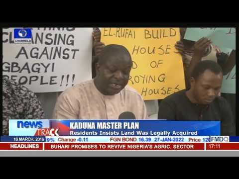 Kaduna Master Plan: