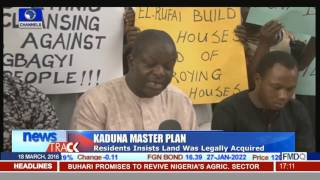 Kaduna Master Plan: Gbagyi Residents Protest Govt's Planned Demolition