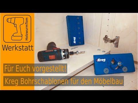 Für Euch vorgestellt - Kreg Bohrschablonen für den Möbelbau