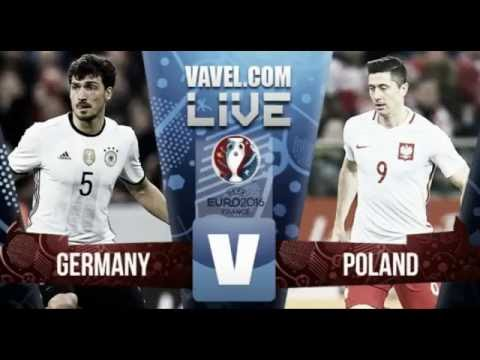 Germany vs Poland live HD stream watch online For FREE in HDTV UEFA Euro 2016
