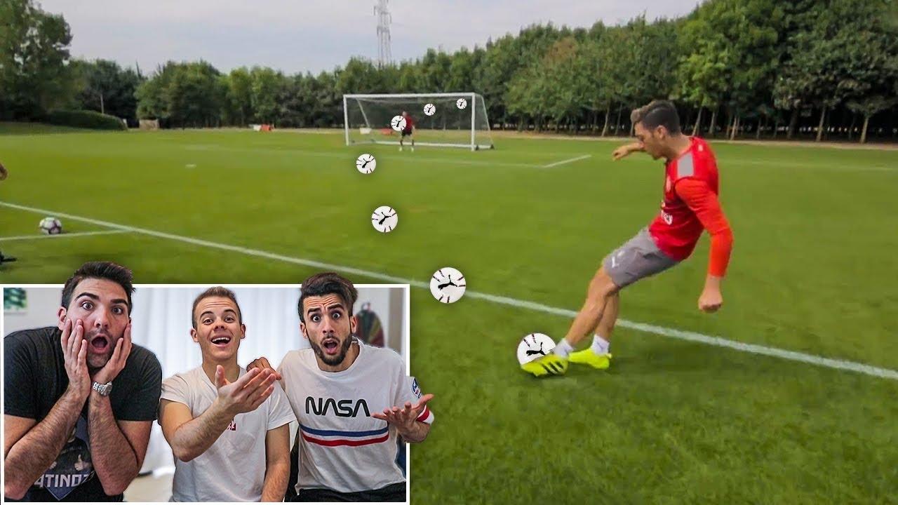 ⚽️ REAZIONE alle FOOTBALL CHALLENGES dei CALCIATORI! w/Ohm e Tatino