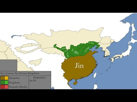 The Early Dynasties of China: Every Year
