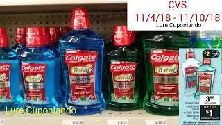 CVS... Plan de Ofertas / Productos GRATIS!!! ⏩ 11/4/18 - 11/10/18