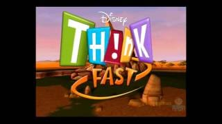 Disney Th!nk Fast PS2 Multiplayer Gameplay (Magenta Software) Think Fast