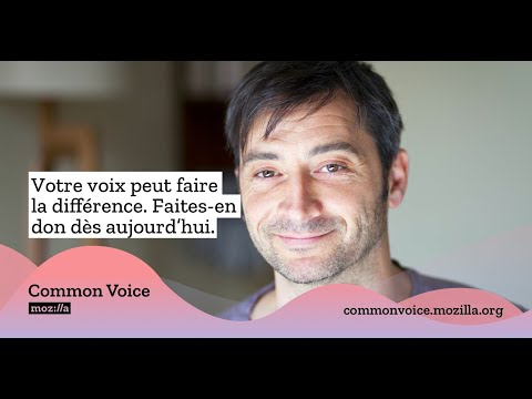 Common Voice: Faites don de votre voix pour adapter la technologie à toutes et tous.