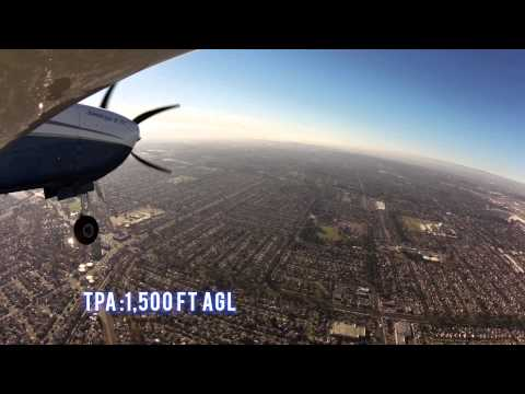 Watch us fly into Long Beach Airport