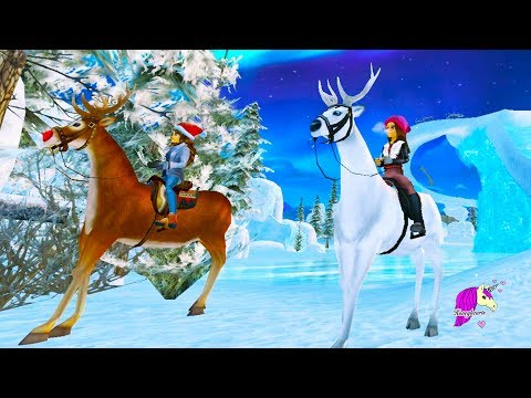 Reindeer Magic & Fireworks !  Star Stable Horses Game Let's Play with Honey Hearts Video