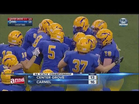 Carmel beats Center Grove in 5A Indiana State Championship