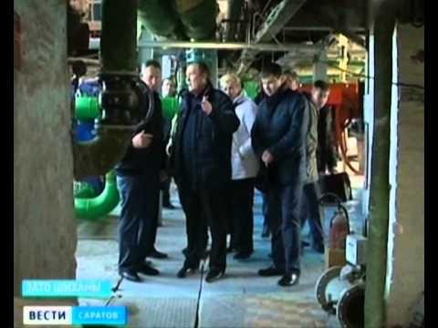 Губернатор совершил рабочий визит в ЗАТО Шиханы