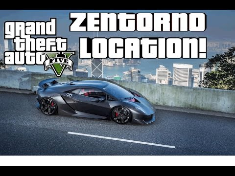 GTA V ZENTORNO LOCATION!! [STORY MODE] - YouTube