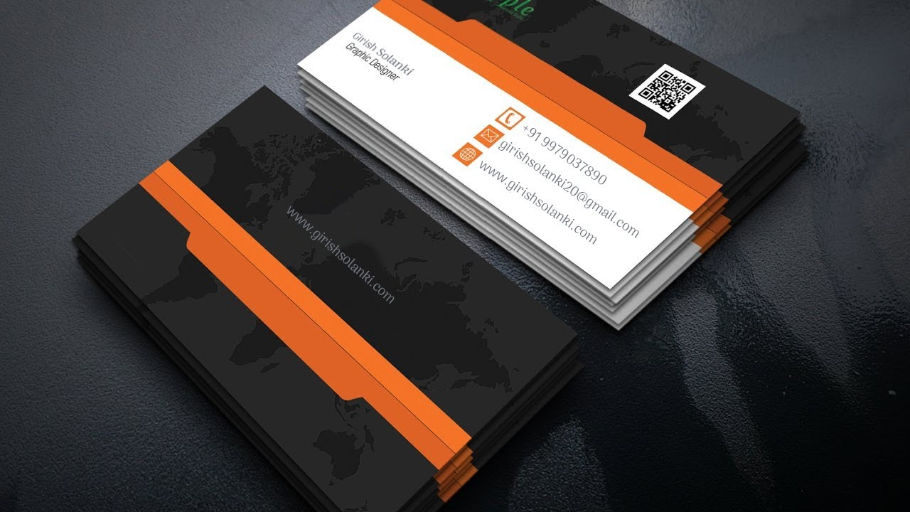Business Card Template For Illustrator Cs6 Gallery - Card Design And ...