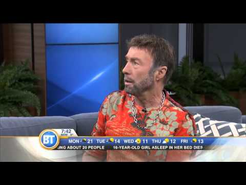 Singer Paul Rodgers On The Royal Sessions