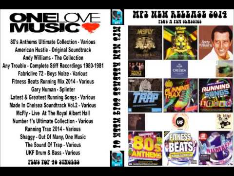 New mp3 releases 2014 week 1 (available to buy)