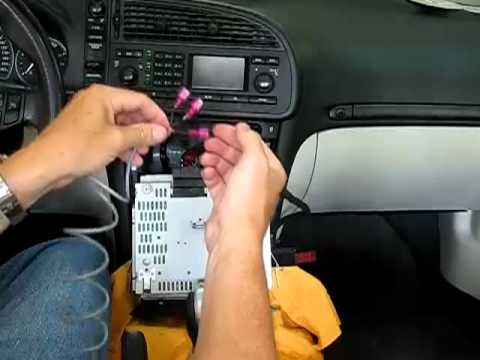 how to add an aux input to a saab 9 3 youtube rh youtube com 2006 Saab 9-3 Saab 900
