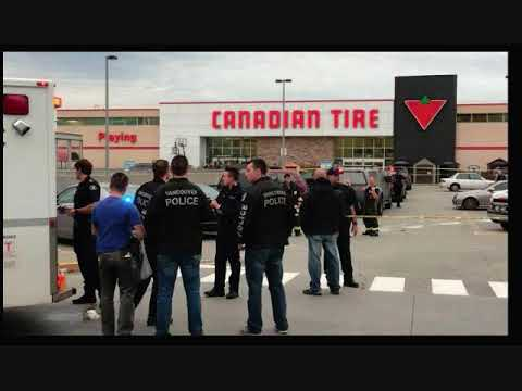 Radio Audio - Vancouver Police Shoot Male After Officer Stabbed at Canadian Tire