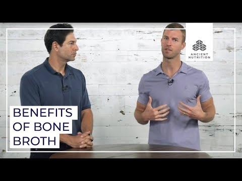 Co-Founders Dr Josh Axe and Jordan Rubin Chat Bone Broth  Ancient Nutrition