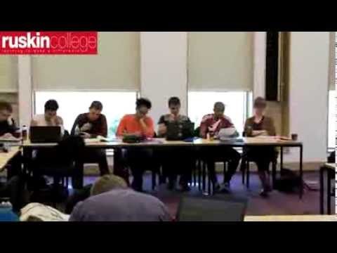 Social and Political Studies, Ruskin College, Oxford