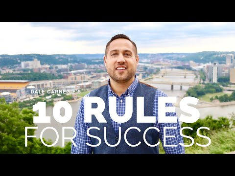 Carnegie's 10 Rules for Success (Location:  Pittsburgh)