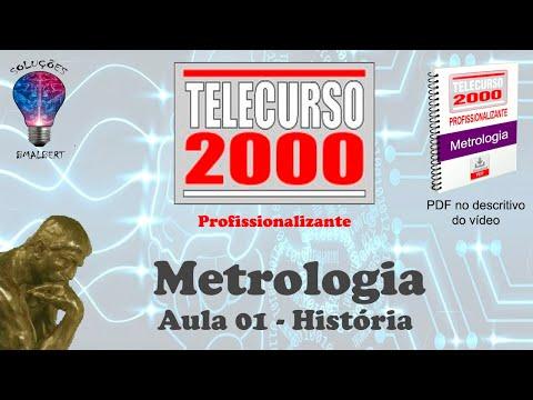 video aula telecurso 2000 metrologia