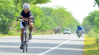 Armless Cyclist Dreams Of Paralympic Gold