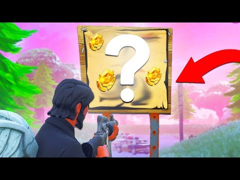 *TOP SECRET* TREASURE MAP LOCATION In Fortnite Battle Royale!