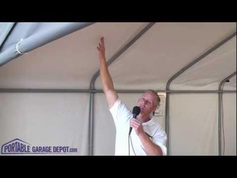 Portable Garage: Economy / House Style