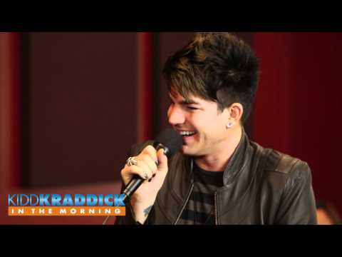 Adam Lambert Interview & Performance - Kidd Kraddick in the Morning