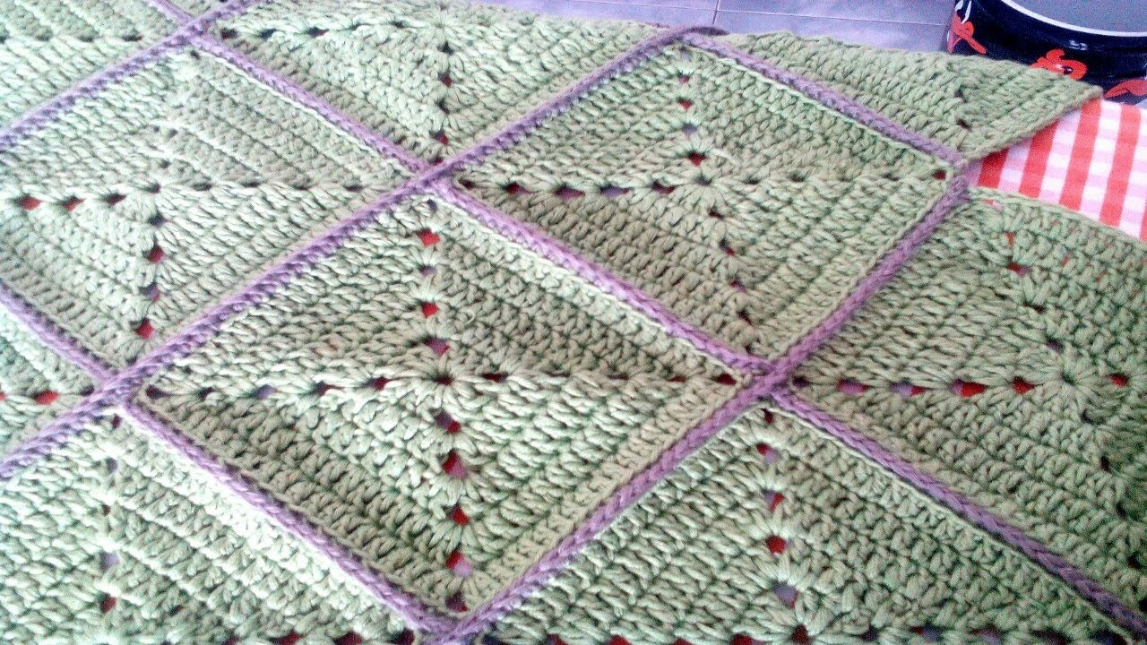 Cuadros Ganchillo How To Join Granny Squares With A Single Crochet Stitch