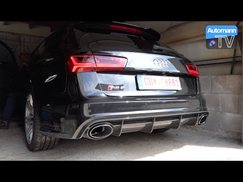 2015 Audi RS6 Facelift (560hp) - pure SOUND (60FPS)