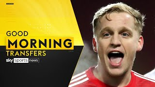 Does Donny van de Beek still have a future at Manchester United? | Good Morning Transfers