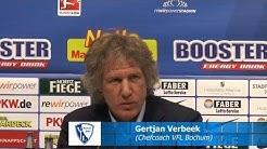 """Gertjan Verbeek: """"Warum sollte ich hier noch Pressekonferenz halten?"""""""