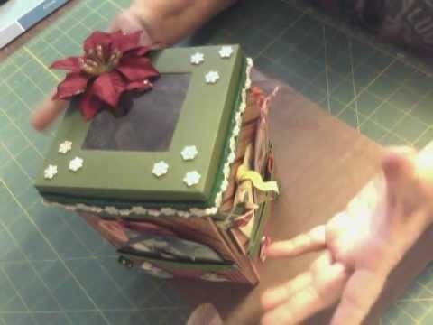 Explosion Box Christmas Version YouTube