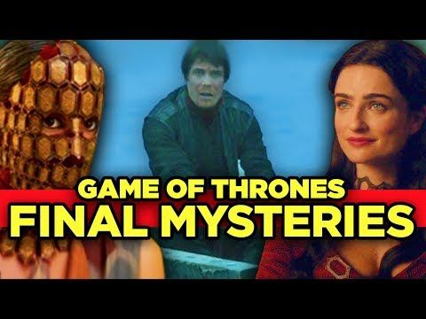 Game of Thrones - Top 12 Mysteries Left - MUST ANSWER QUESTIONS