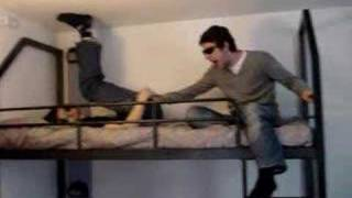 2 men in bed