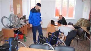 видео запчасти для колясок инвалидных