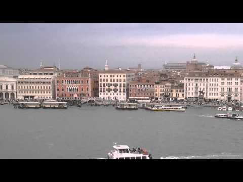 Cruising the Grand Canal in Venice, Italy