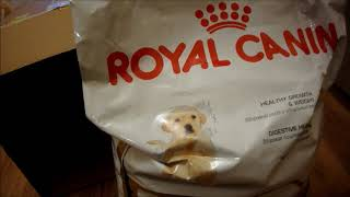 Посылка от магазина Petshop.ru / корм для щенка лабрадора 3 месяца/ Labrador Jesse