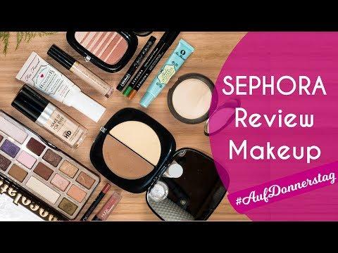 ≡ SEPHORA DEUTSCHLAND REVIEW-TORIAL 🏁 Makeup schminken & bewerten // #LetsPlayMakeup #AufDonnerstag