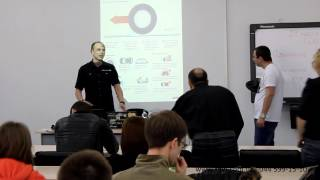 Семинары FDW Физика движения - курсы защитного вождения (Прага Авто 27.03.14, Киев)(Видео снято на семинаре защитного вождения Физики движения, который состоялся 27 марта 2014 года в Автоцентре..., 2014-07-20T07:13:45.000Z)