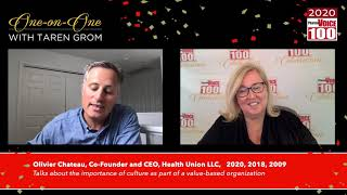 Oliver Chateau, Health Union LLC – 2020 PharmaVOICE 100 Celebration