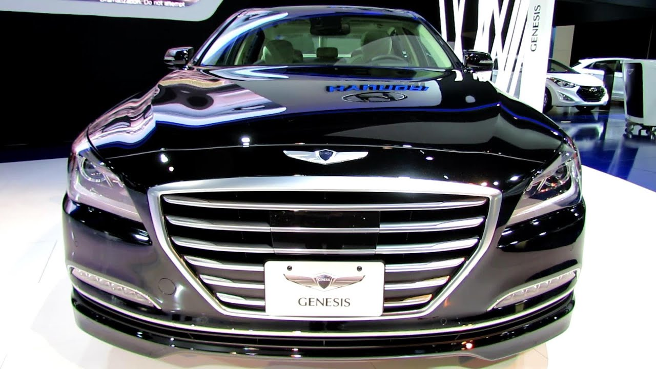 2015 Hyundai Genesis   Exterior And Interior Walkaround   2014 Toronto Auto  Show   YouTube