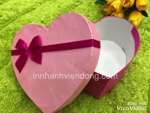 Vỏ hộp đựng quà tặng rẻ đẹp bán buôn bán lẻ - InVienDong.com