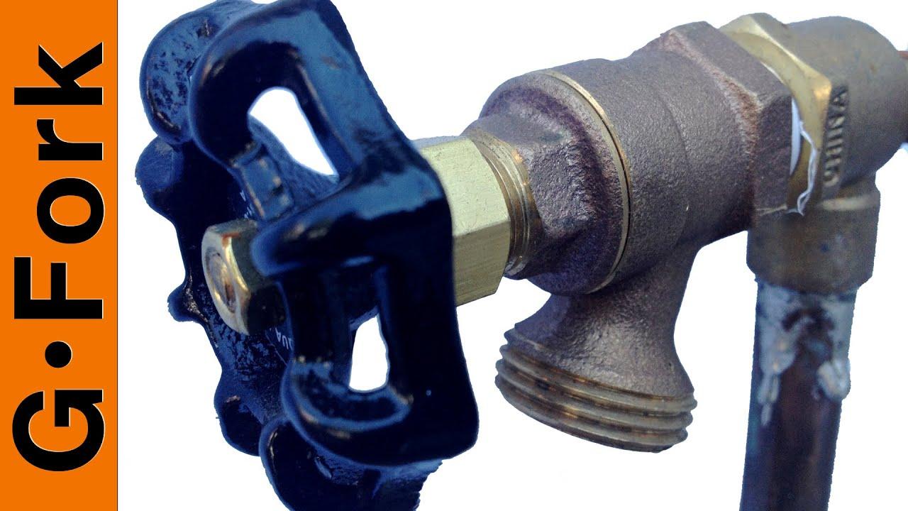how to repair a dripping outdoor faucet gardenfork