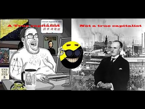 Ancap denies that the Nazis/fascists were pro capitalist, uses memes as evidence.
