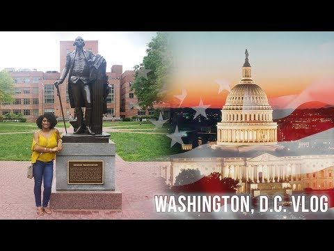 VLOG | Work Trip to Washington, D.C.!