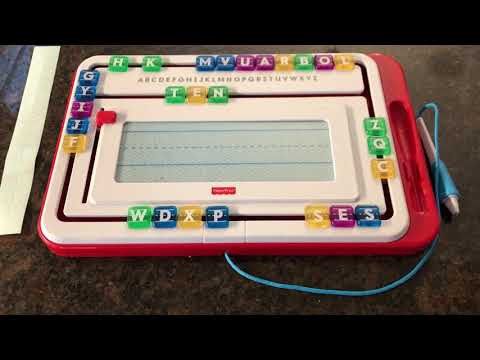 Fisher-Price Think & Learn Alpha Slide Writer Review